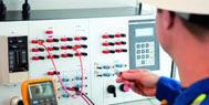 High Voltage Test Bay